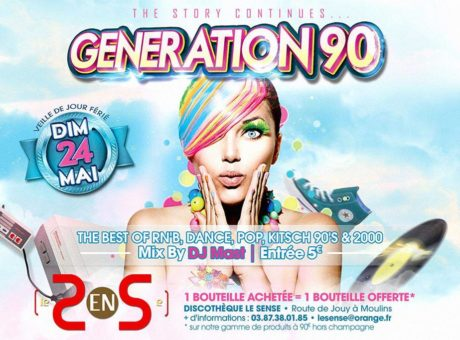 generation 90 mai 2015