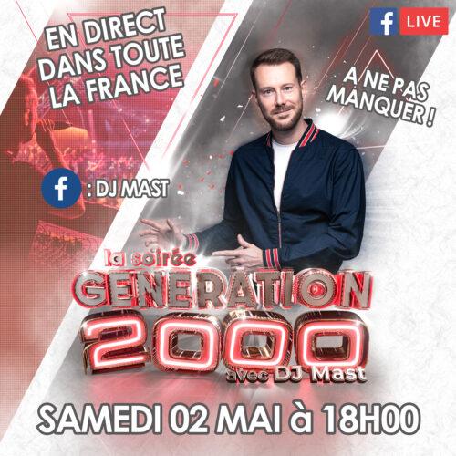 FACEBOOK LIVE : GÉNÉRATION 2000