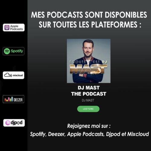 PODCASTS sur Spotify, Deezer …